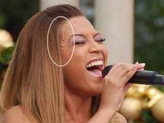 Beyonce 2006 on Topic  Beyonces Wig  Reavealed  Pics