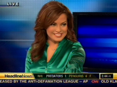 with respect to miss thireaux, I have a huge thing for Robin Meade.