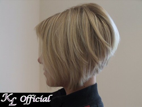 Stacked Bob Hairstyles Back View