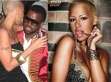 HairTalk™ @ HairBoutique.com: Amber Rose, Kanye West's new girlfriend