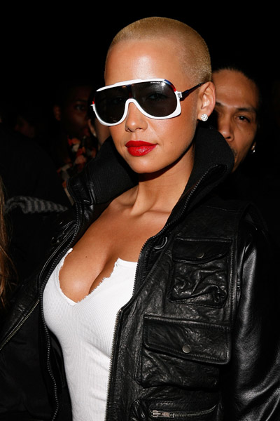 amber rose with hair pictures. Celebrity Hair Talk : Amber
