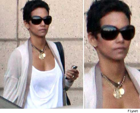 halle berrys hairstyle. HairTalk™ @ HairBoutique.com: Halle Berry shorter with highlights