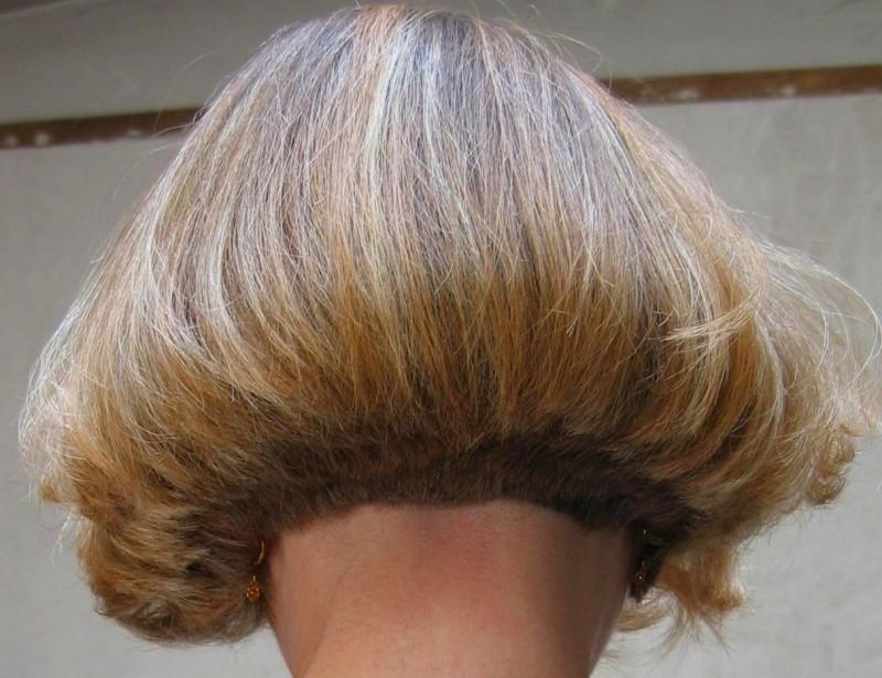 Short Shaved Nape Bob Hairstyles