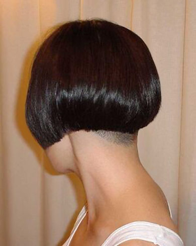 ... Bob Hairstyles further Short Bob With Shaved Nape. on shaved nape bob
