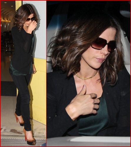 Kate Beckinsale Without Hair Extensions kate beckinsale shorte...