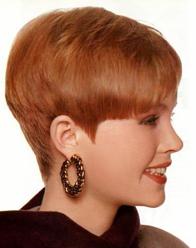 Фото стрижка над ушами