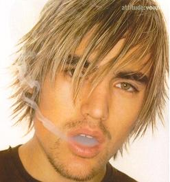 Dirty Blonde Hair Male